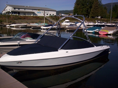 Custom Boat Top Bow Cover Regal